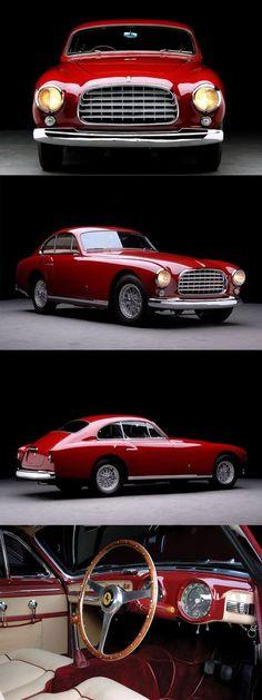 Cool Ferrari 2017: 1951 Ferrari 340 America Ghia / red / Italy / 197hp 4.1l Lampredi V12 / Giovanni... The Fast and the Luxurious #hotrodvintagecars