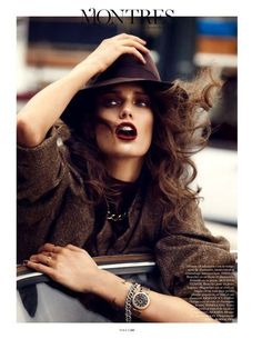 """""""To me, clothing is a form of self expression. There are hints of who you are in what you wear"""". Marc Jacobs. Visit www.colettewerden.com #colettewerden  X  #style #fashion #stylist #woman #hat #edgy #statement #lipstick"""