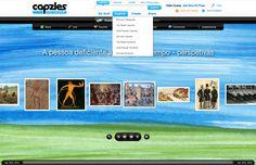 Anabela Campos (Capzles sobre A pessoa deficiente ao longo dos tempos) http://www.capzles.com/#/135b1501-ac21-42a6-8736-e8de31066f99