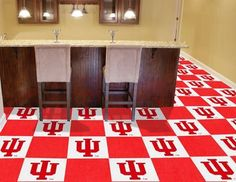 Indiana University Carpet Tiles
