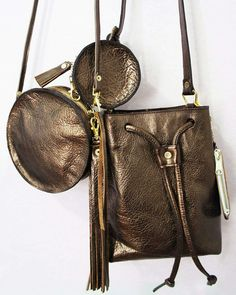 Copper Leather Bags. Which one?