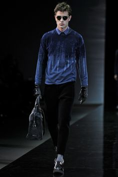 Emporio Armani Men's RTW Fall 2014 - Slideshow