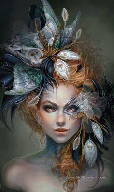 ... She looked mysterious and captivating, I was mesmerised...