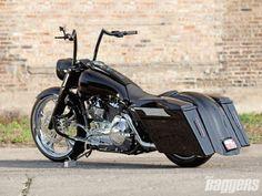 Image result for Custom Harley Road King