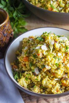 Couscous Recipes, Veggie Recipes, Salad Recipes, Vegetarian Recipes, Cooking Recipes, Healthy Recipes, Veggie Dishes, Diabetic Recipes, Healthy Snacks