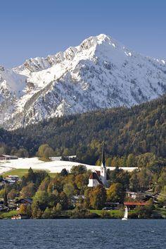 #Winter und #Herbst vereint am #Tegernsee in #Bayern lake tegernsee/bavarian alps