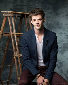 Grant Gustin. Now that's a fine fellow Virginian. Move back to the state, sir - we're meant to be together.