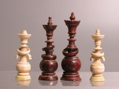 Chess set, Russia ca. Late 18th century, Ivory.