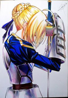 Saber - Fate Stay Night by JeanCarlo183 on DeviantArt