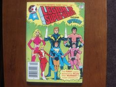 Legion Of Super-heroes - Dc Special Blue Ribbon Digest, Vol. 1, No. 1, Mar/Apr 1980