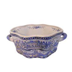 "Oriental Furnishings - 14"" Hand Painted Oriental Porcelain Foot Bath, $89.00 (http://www.orientalfurnishings.com/14-hand-painted-oriental-porcelain-foot-bath/)"