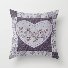 Woodland Secrets Throw Pillow by Lynette Anderson Designs - $20.00