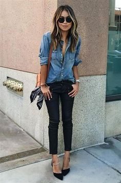 46 Spring Work Outfit Ideas That Will Brighten Your Day The Dame casual friday work outfits - Casual Outfit Casual Friday Work Outfits, Casual Going Out Outfits, Spring Work Outfits, Business Casual Outfits, Work Casual, Simple Outfits, Office Outfits, Smart Casual, Office Wear