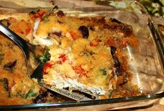 Grated Cod with Taggiasca Fish Recipes, Meat Recipes, Rice Dishes, Antipasto, Fish And Seafood, Lasagna, Italian Recipes, Cod, Quiche