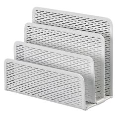 Artistic Urban Collection Punched Metal Letter Sorter 6 1/2 x 3 1/4 x 5 1/2