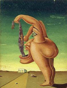 Victor Brauner (1903  - 1966) | Surrealism | Trio - 1937
