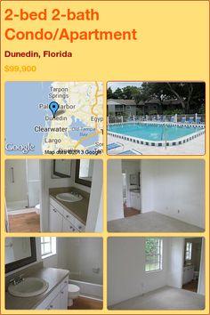 2-bed 2-bath Condo/Apartment in Dunedin, Florida ►$99,900 #PropertyForSale #RealEstate #Florida http://florida-magic.com/properties/12329-condo-apartment-for-sale-in-dunedin-florida-with-2-bedroom-2-bathroom