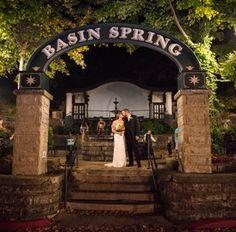 basin park wedding packages eureka springs weddings