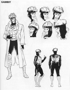 Gambit from X-Men: Animated Series