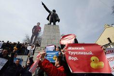 Es waren die größten Proteste seit 2012, auch in Wladiwostok, Nowosibirsk,...