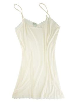 Silk slip from the Mary Green line...classic elegance
