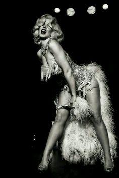 Vintage Vegas Showgirl