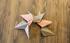 画用紙や折り紙で出来ちゃう!?インテリアのコーディネートが大好きな方、これから楽しみたい方も注目すべし!とっても簡単に立体的な星が作れて、それがまたオシャレなんです♪一つ覚えると大活躍しますので是非覚えてください♡