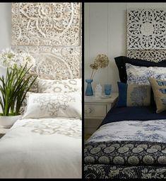 Cabeceros de Cama: Encuentra aquí + 50 Diy para hacer el tuyo propio Diy Crafts, Bedroom, Furniture, Design, Home Decor, Head Boards, Upholstered Headboards, Blinds, Ethnic Bedroom