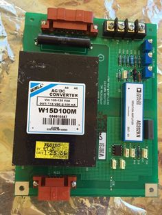 Analog Devices Isolation Amplifier A D202KN-used-Wall Ac/dc Converter W15D100M #AnalogDevices