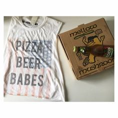 The Laundry Room Pizza, Beer, Babes Muscle Shirt ✨NWOT ✨one size fits all ✨cropped ✨Muscle tank ✨60% cotton & 40% polyester  ❌No garments were harmed doing the taking of the cover photo ❌ The Laundry Room Tops Muscle Tees