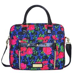 Betsey Johnson Laptop Bag, Skulls in Bloom, Blue, http://www.amazon.com/dp/B00IT7OL6U/ref=cm_sw_r_pi_awdm_BR-8tb18D9SF3