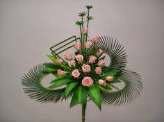 Contemporary Flower Arrangements, Creative Flower Arrangements, Funeral Flower Arrangements, Beautiful Flower Arrangements, Floral Arrangements, Beautiful Flowers, Altar Flowers, Church Flowers, Funeral Flowers