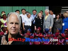 Limbaugh Explains How The Clintons Stole Money From Haiti's Earthquake