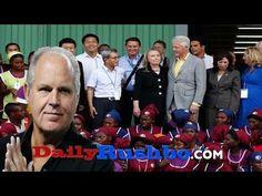 Limbaugh Explains How The Clintons Stole Money From Haiti's Earthquake