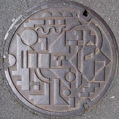 The Art of the Japanese Manhole ~ Kuriositas