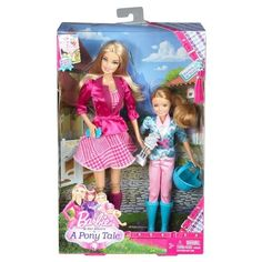Barbie Sisters '' in a Pony Tale'' 2 Pack Barbie & Stacie Dolls Gift set -NIB #Mattel #DollswithClothingAccessories