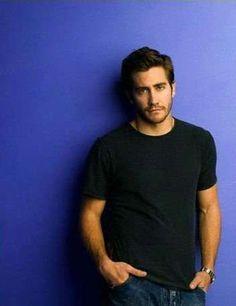Jake Gyllenhaal in Scoop Neck T-Shirt