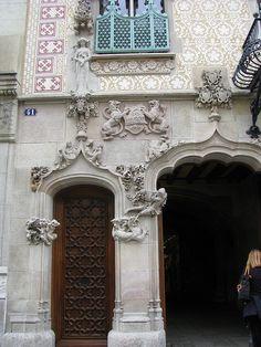 Casa Amatller (1898-1900). Barcelona