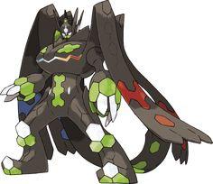 Eine besondere Rolle in den Spielen Pokémon Sonne und Mond nimmt Zygarde ein. Dieses ist erstmals mit seiner 10%-Form und als Optimum-Zygarde vertreten.