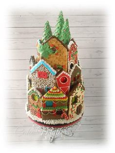 Gingerbread house- Cake Style - Cake by CakeMatters