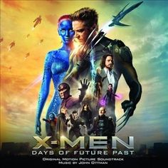 X-Men: Days of Future Past [Original Motion Picture Soundtrack] (CD, May-2014, Sony Classical)