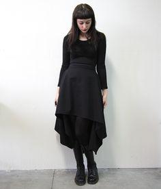 skirt by Plastik Wrap and Zoetica Ebb, GHST RDR series www.plastikwrap.com www.plastikarmy.com