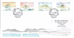 First Day Cover 30.4.98 'The Hills of Assynt-Coigach'