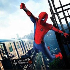 """(@spidey.marvel) på Instagram: """"I love this! New promo art for #spidermanhomecoming Via @comics.accurate - - - [#spiderman #spidey…"""""""
