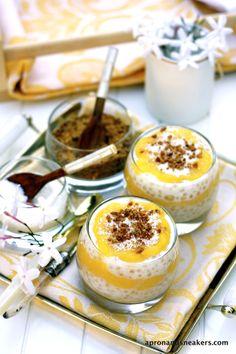 Jackfruit Tapioca Trifle with Muscovado & Coconut @Rowena Dumlao Giardina (Apron and Sneakers)