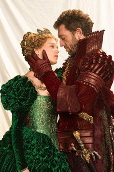 Léa Seydoux as the Beauty and Vincent Cassel as the Beast in La Belle et la Bête (2014). #cosplay