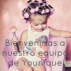 Welcome to my team. Bienvenida. Equipo. Beauty. Rimel. Bonita. Mascara. Www.youniqueproducts.com/alexaburns/