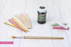 Návod na bylinkové menovky maľované tabuľovou farbou