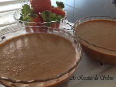 Mousse de Chocolate na Yammi | As Receitas da Selene Portuguese, Nova, Pudding, Desserts, Recipes, Dessert Food, Cuisine, Ideas, Kitchens