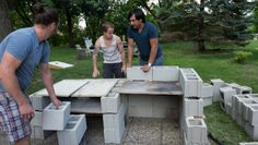 DIY Grill and Pizza Oven for about $100: Cool! © Adrian Danciu / Kinocut Pictures, LLC